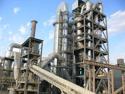 preheater in cement plant
