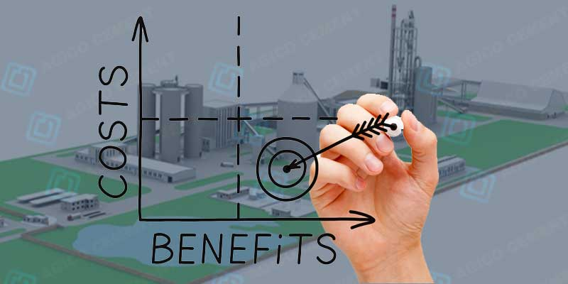 cement plant cost benefits analysis