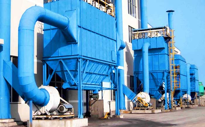 bag filter in cement plant