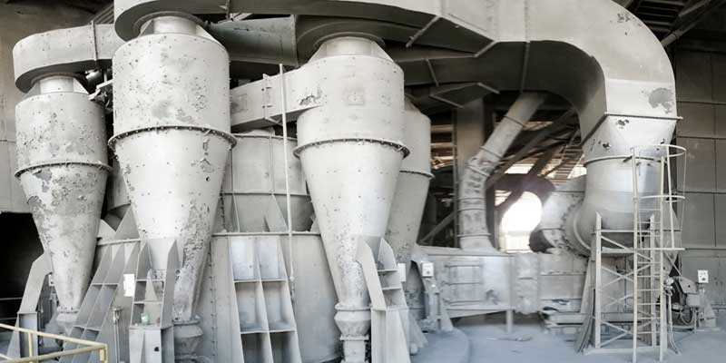 cyclone separator in cement plant