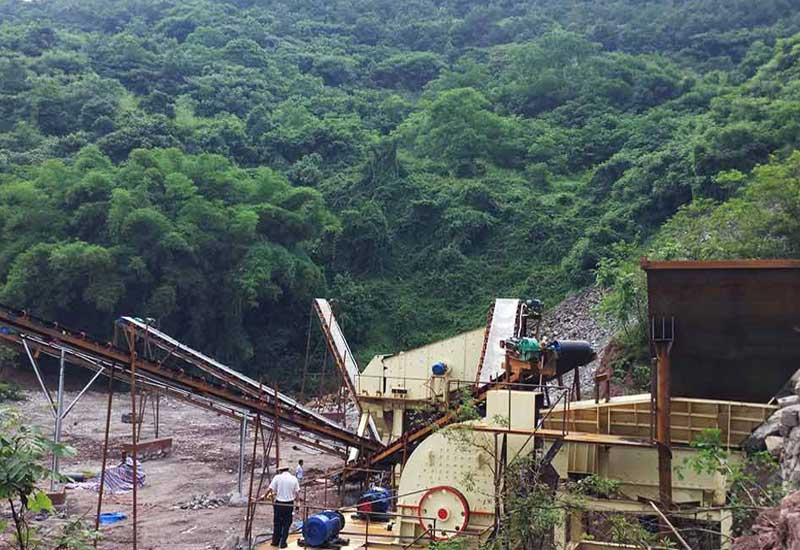 cement crushing plant project