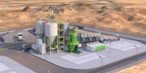 cement grinding unit