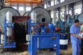 cement roller press