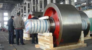 cement rotary kiln process