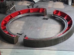 rotary kiln gear wheel