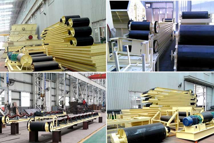 cement belt conveyor workingshop