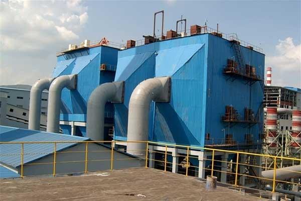Electrostatic precipitator in cement plant