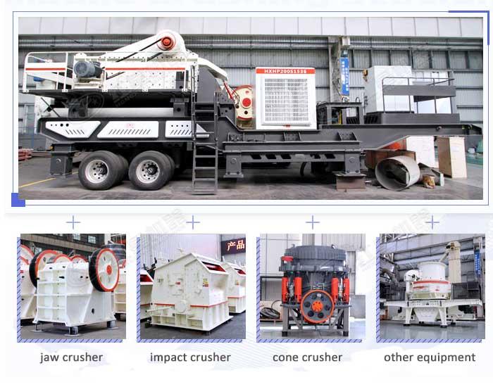 mobile crushing unit
