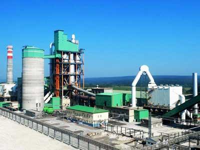 8000tpd cement production plant project
