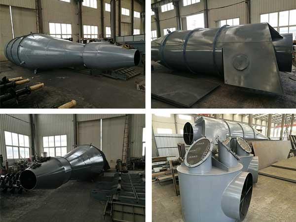 cyclone separator manufacture
